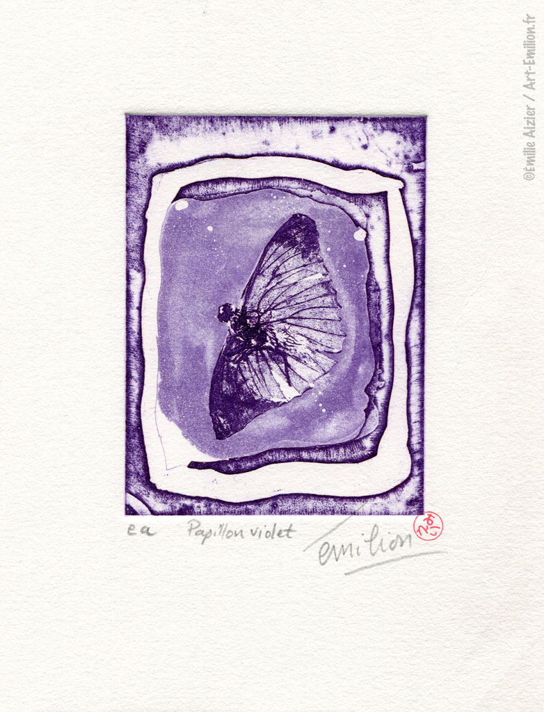 article image Papillon violet